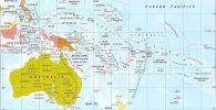 países y capitales de Oceanía