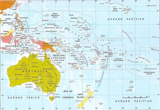 Lista De Países Y Capitales De Oceanía Actualizado 2021